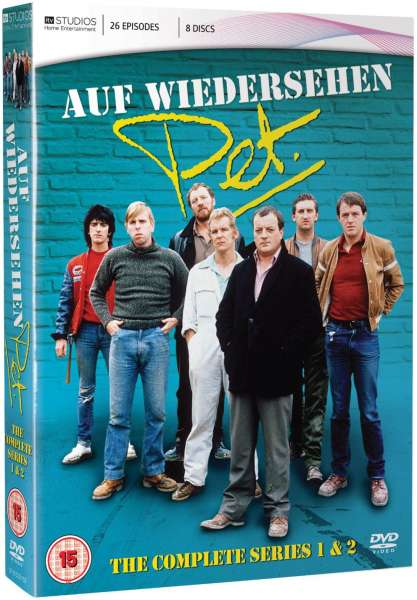 Auf Wiedersehen Pet Complete Series 1 And 2 Dvd Zavvi