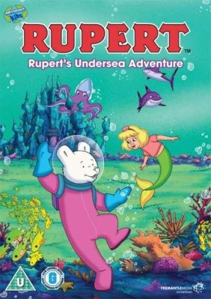 Rupert Rupert S Undersea Adventure Dvd Zavvi