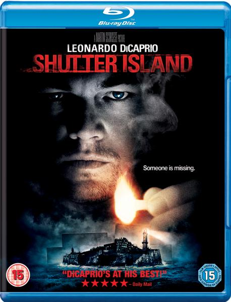 Image result for shutter island blu ray