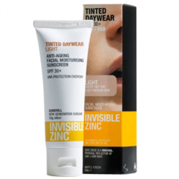 INVISIBLE ZINC TINTED DAYWEAR SPF30+ - LIGHT (50G)
