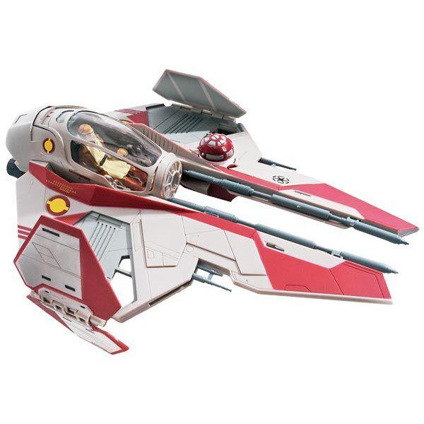 Star Wars Obi Wan S Jedi Starfighter Snaptite Model Toys