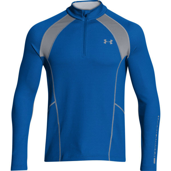 Under armour men 39 s cold gear infrared thermo 1 4 zip top for Under armour cold gear shirt mens