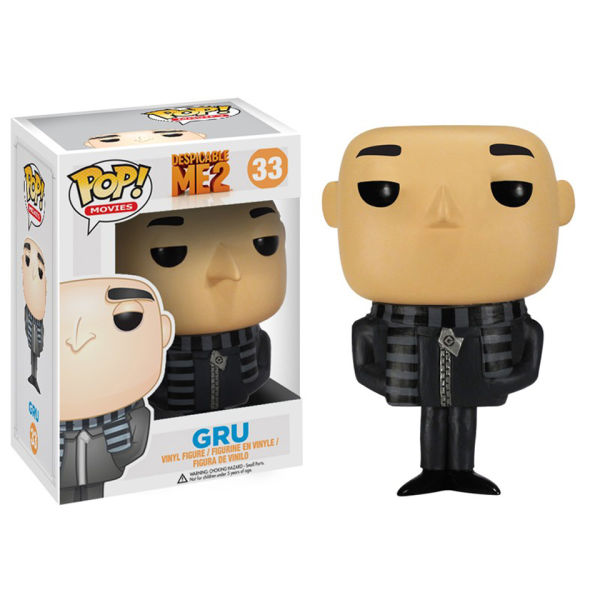 Despicable Me Gru Pop! Vinyl Figure