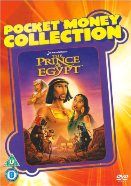 The Prince Of Egypt Dvd Zavvi
