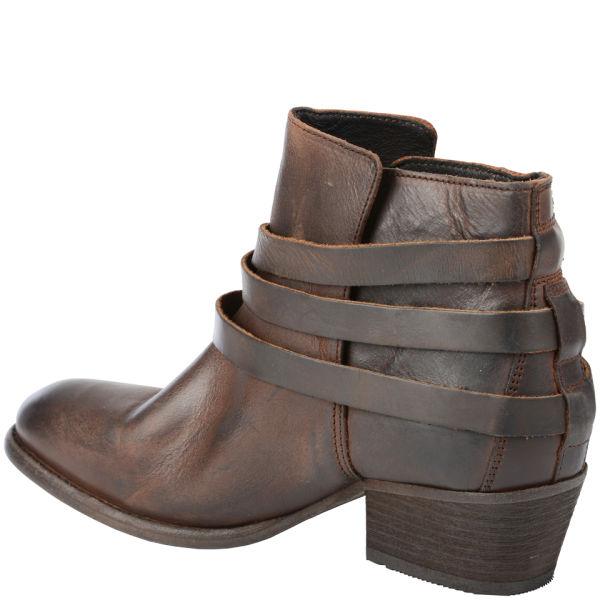 Hudson London Women\'s Horrigan Calf Leather Ankle Boots - Tan ...
