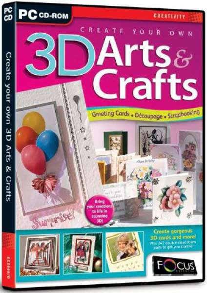 Make Your Own Calendar Art And Craft : Create your own d arts and crafts computing zavvi