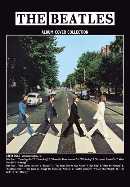 Abbey Road Album Greeting Card Gifts Zavvi