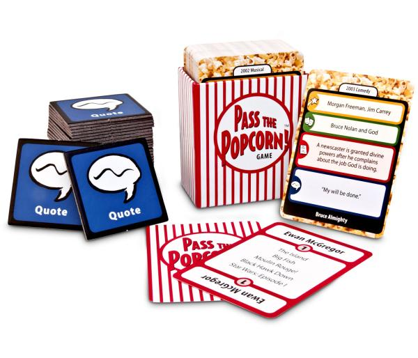 Pass the Popcorn Film Game