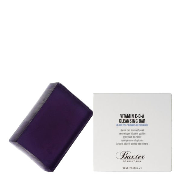 Baxter of California Vit E-D-A Cleansing Bars - Bergamot and Pear (100ml)