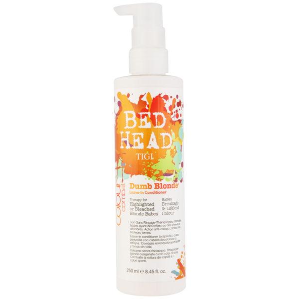 Tigi Bed Head Colour Combat Dumb Blonde Leave N Treatment (250ml ... 31db66130911