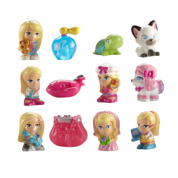 Squinkies 12 Piece Barbie Pack Series 4 Toys Zavvi