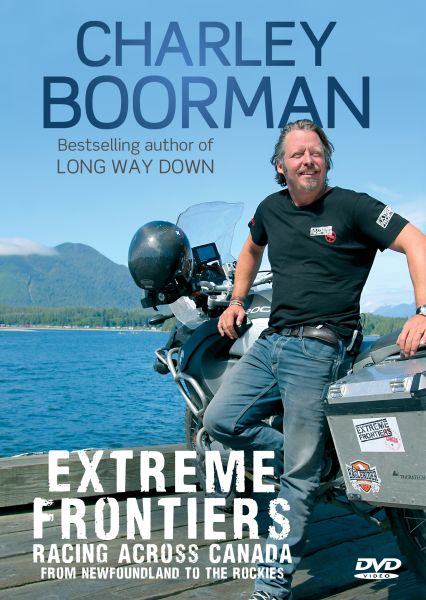 Charley Boorman Extreme Frontiers: Race Across Canada DVD ...