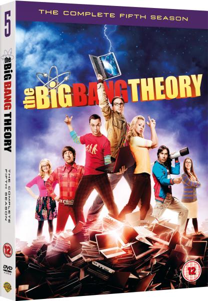 The Big Bang Theory Season 5 Dvd Zavvi