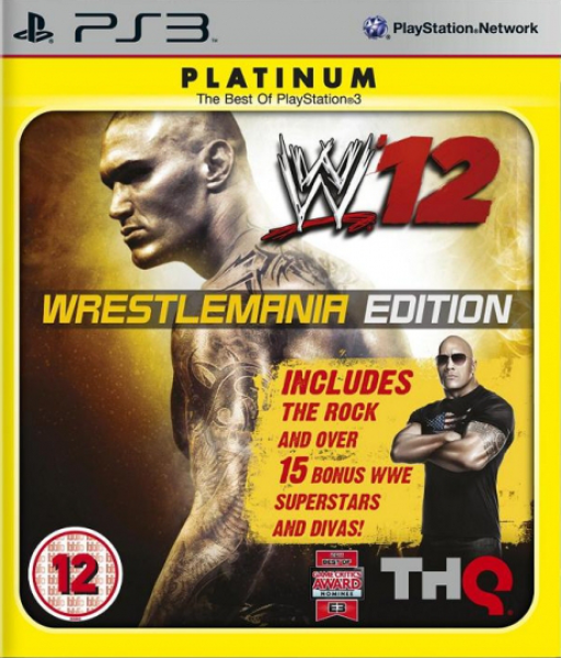Wwe '12 review: men in tights.