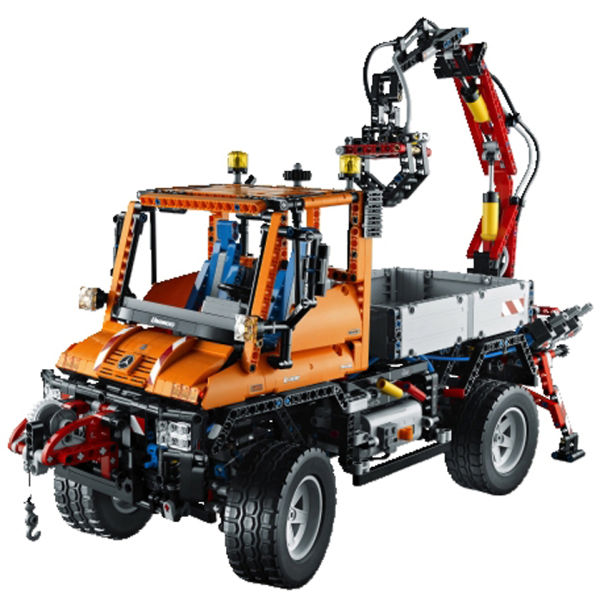 lego technic mercedes benz unimog u 400 8110 toys. Black Bedroom Furniture Sets. Home Design Ideas