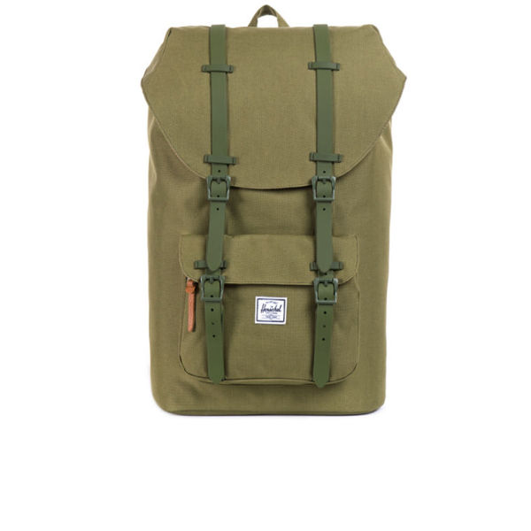 Herschel Supply Co. Little America Backpack - Army/Rubber