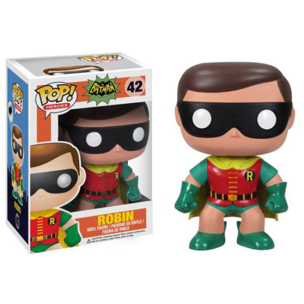 dc comics batman 1966 tv serien robin funko pop figur sowia. Black Bedroom Furniture Sets. Home Design Ideas