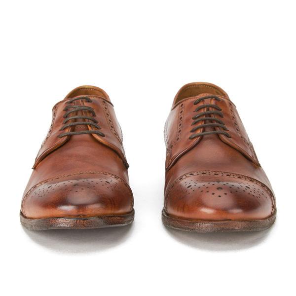 hudson s davern drum dye leather wing tip