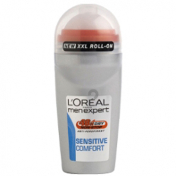 L'Oréal Men Expert Sensitive Komfort Deodorant Roller (50ml)