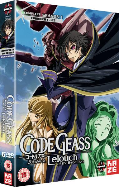 Code Geass: Lelouch of the Rebellion - Season 1