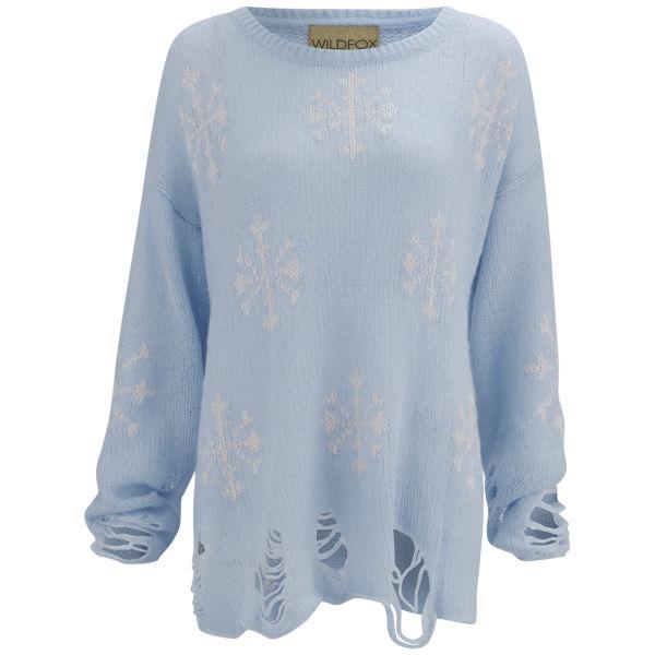 Wildfox Women's Lenon Sweater - Hazy Blue