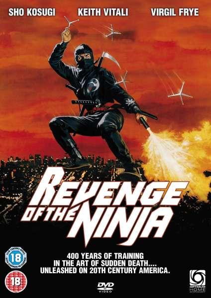 Revenge Of The Ninja Dvd Zavvi