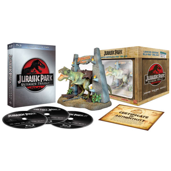 Jurassic Park Ultimate Trilogy: Limited Collector's