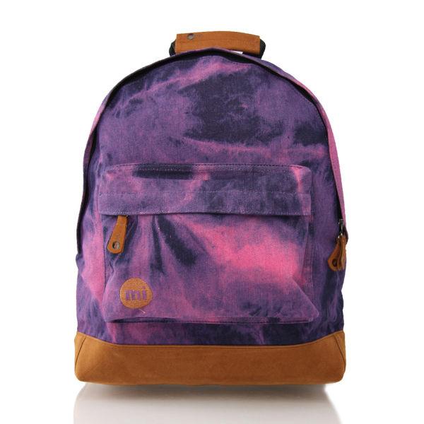 Mi- Pac Premium Tie-Dye Backpack - Denim Dye Purple