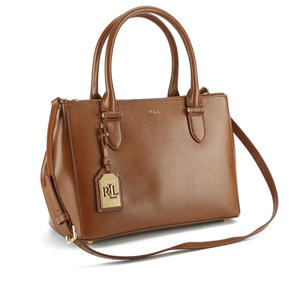4b07c63828 Lauren Ralph Lauren Women s Newbury Zip Shopper Bag - Lauren Tan  Image 8