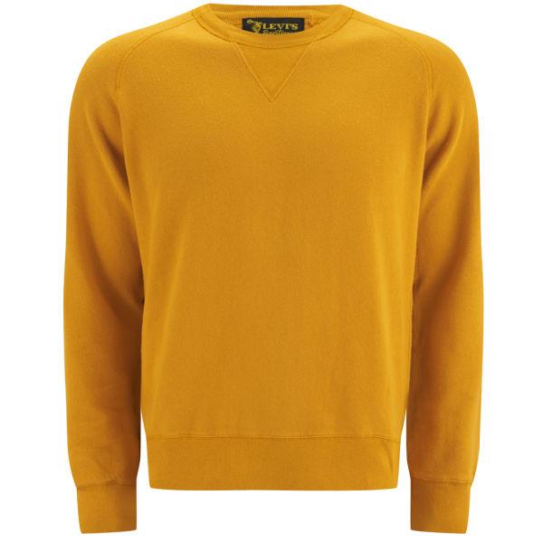 Vintage Crew Sweatshirt Orange Levi s Free Neck Men s Uk 1950s dZnWdOqt 227ea825ee88