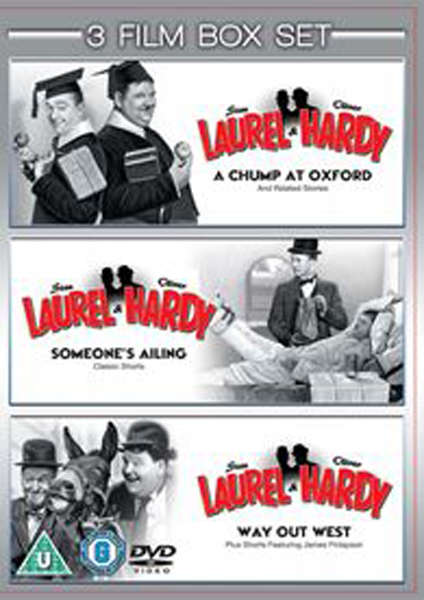 Laurel And Hardy Vols 1-3 - Chump At Oxford / Someone
