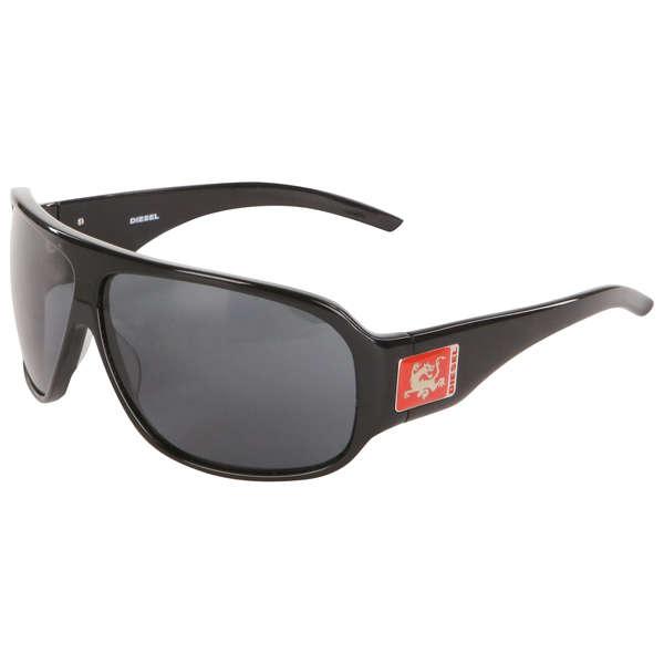 74ab7b17ef7 Diesel Mens Square Logo Arm Plastic Sunglasses. Product Details