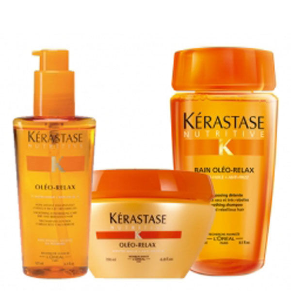 Kérastase Fine Frizzy Hair Pack (3 Products) | Free ...