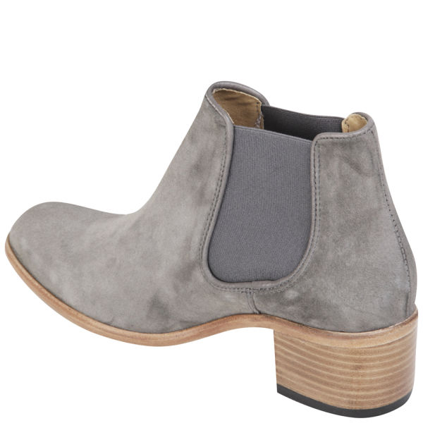 a4e31a197b08 H Shoes by Hudson Women s Bronte Suede Heeled Chelsea Boots - Grey  Image 2