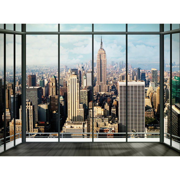 New York Skyline Wall Mural Homeware   Zavvi