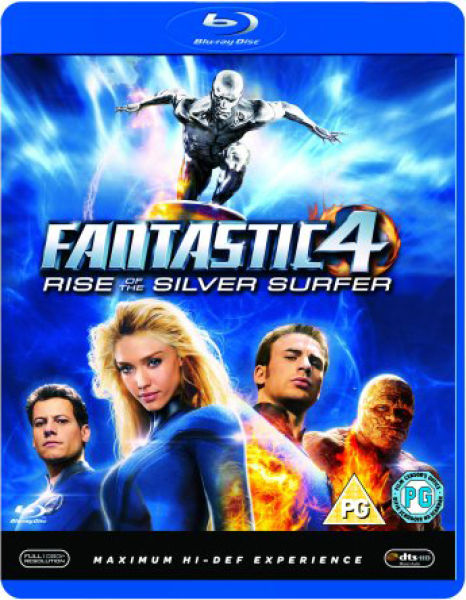 Fantastic Four Rise Of The Silver Surfer (2007) BluRay 720p 1.4GB [Hindi 224kbps – English 384kbps] ESubs MKV