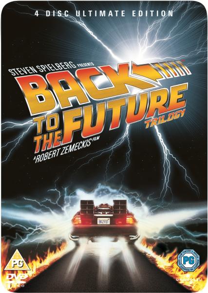 Back To The Future Trilogy Steel Book Dvd Zavvi Com