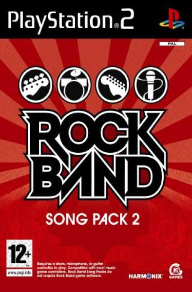 Rockband Song Pack 2 PS2