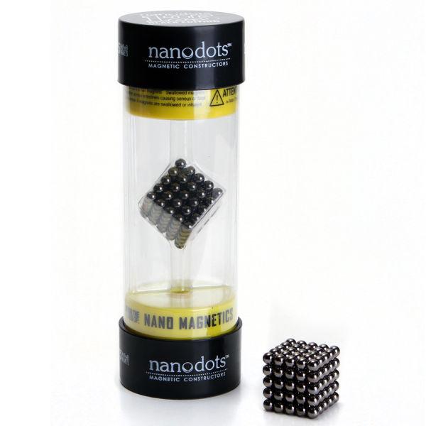 Nanodots Magnetic Constructors Black - 125 Dots
