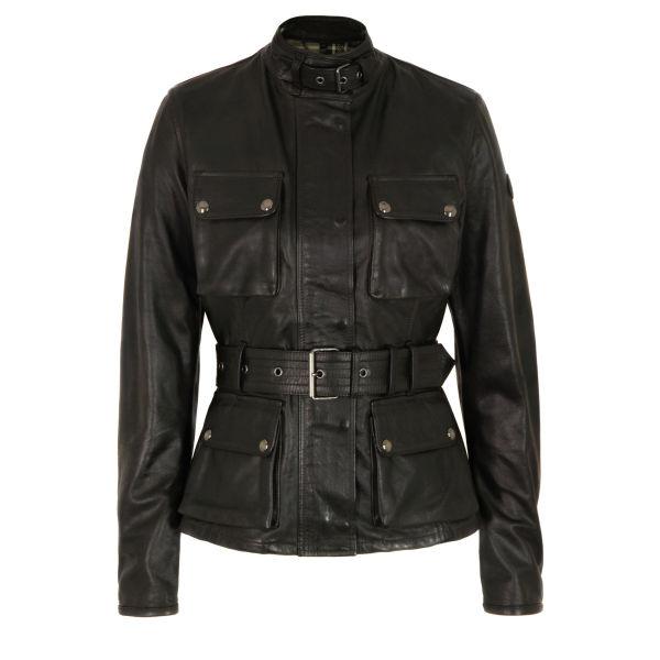Belstaff Women's Triumph Leather Jacket - Black