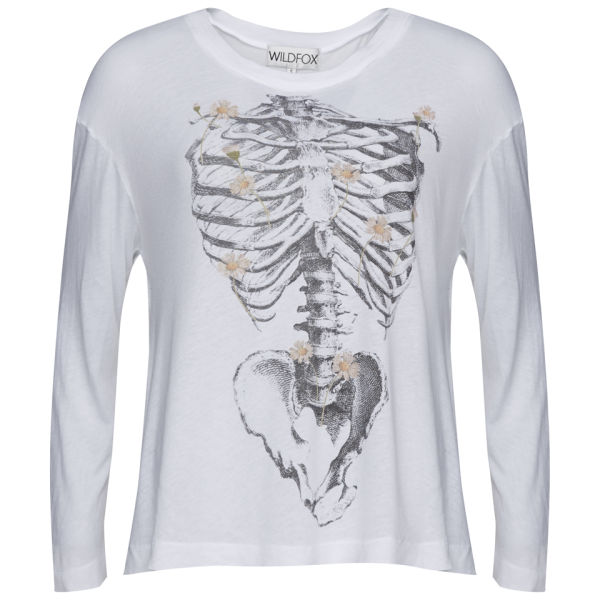 Wildfox Women's Daisy Bones T-Shirt - Clean White