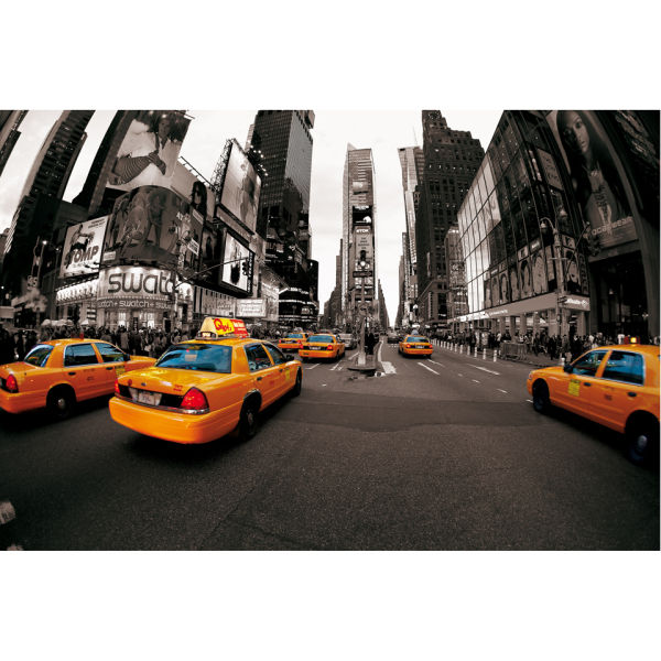 Delightful New York Times Square Wall Mural: Image 2 Part 13