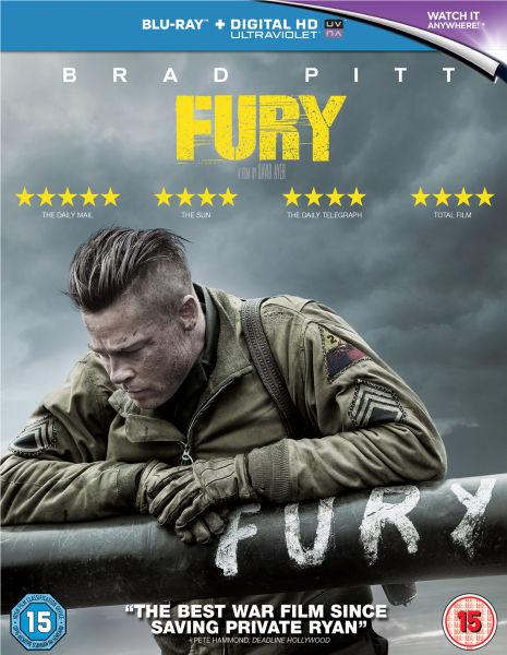 Film Action Terbaik - Fury (2014)