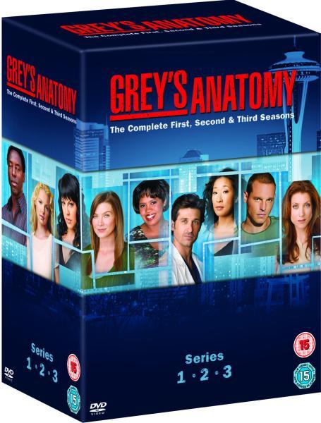 Grey\'s Anatomy - Series 1 - 3 [14-Disc Box Set] DVD | Zavvi