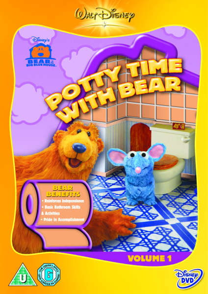 Bear In The Big Blue House Potty Time Dvd Zavvi Com