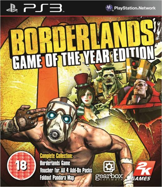 Borderlands game of the year edition trainer