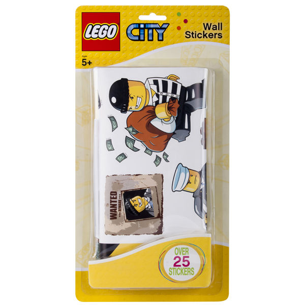 LEGO Wall Stickers Police   Small Pack