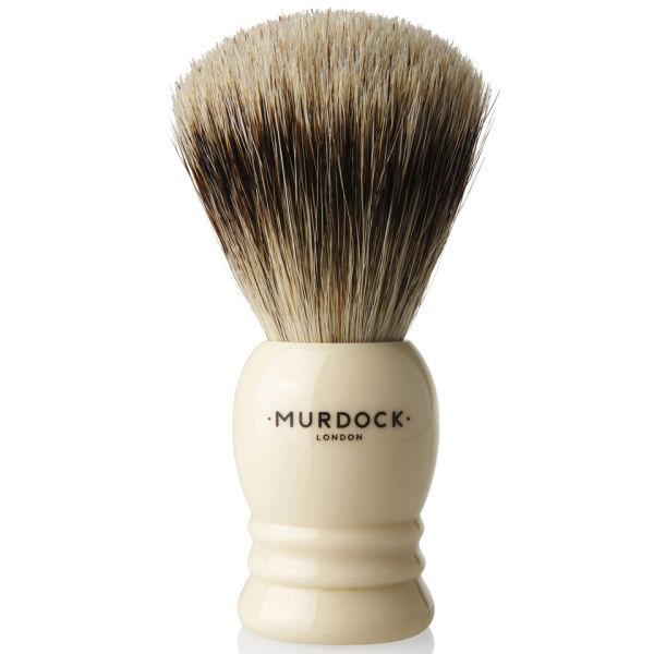 Murdock London Pure Badger Hair Brush (Ivory)