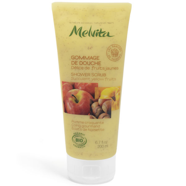 Gommage de douche fruits jaunes Melvita (200ml)