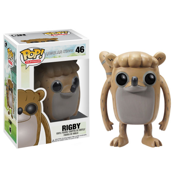 Regular Show Rigby Pop! Vinyl Figure